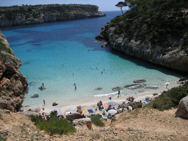 visite Mallorca praias Calo-des-Moro