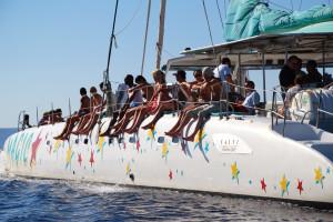 Tour in catamaran in Mallorca
