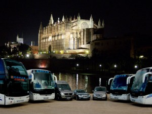 Autocares, Catedral de Palma de Mallorca