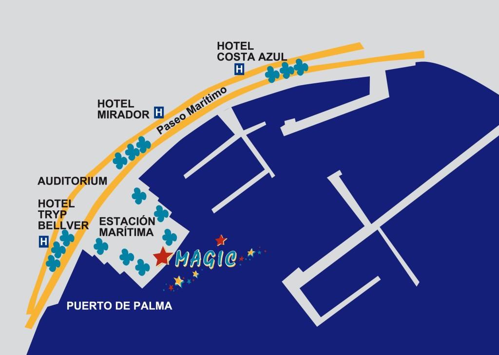 Palma Mallorca, Departure of catamaran