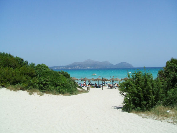 visite Mallorca praia de Muro