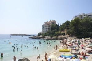 Visite Mallorca praia de Illetas