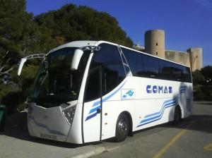 ônibus Castelo de Bellver